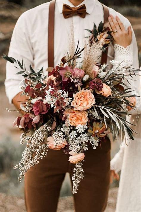 Vintage-Fall-WeddingFlower-Bouquets