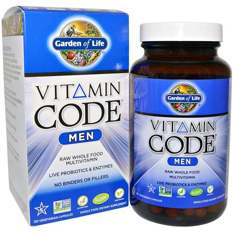 Vitamin Code MEN 120 Capsules Raw | Watches Store Online Reviews