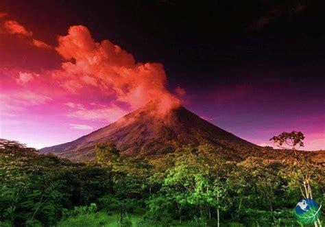 Volcano Sunset Costa Rica