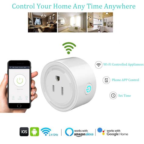 WIFI Wireless Smart Home Socket Phone APP Remote Control Electric Power Switch | Watches Store Online Reviews