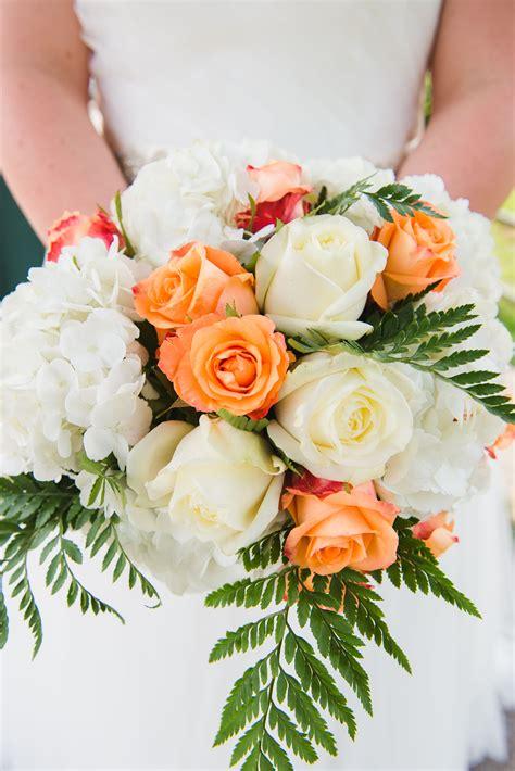 Wedding-FlowersCoral-Bridal-Bouquet