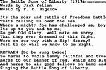 Western Battle Song