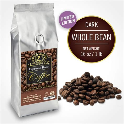 Whole Bean Roasted Coffee  | Gps Store