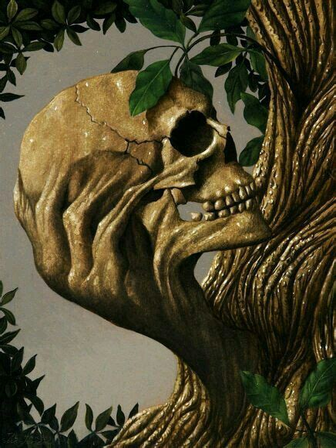 Wicked Tree Drawings Skull Tattoos