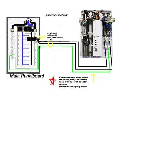 Wiring-TanklessWater-Heater