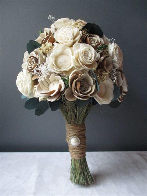 Wood-Flower-Bouquetsfor-Wedding