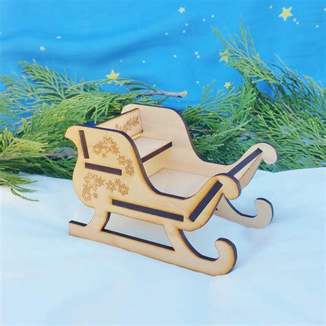 WoodenSanta-Sleigh