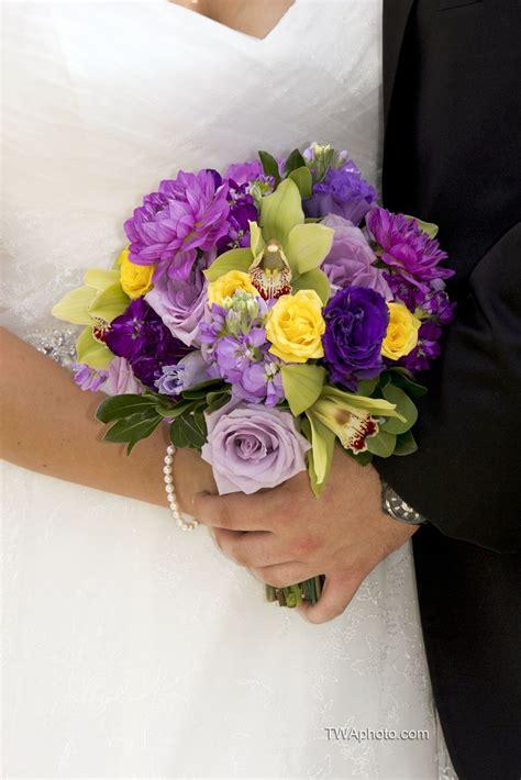 Yellow-andPurple-Wedding-Flowers