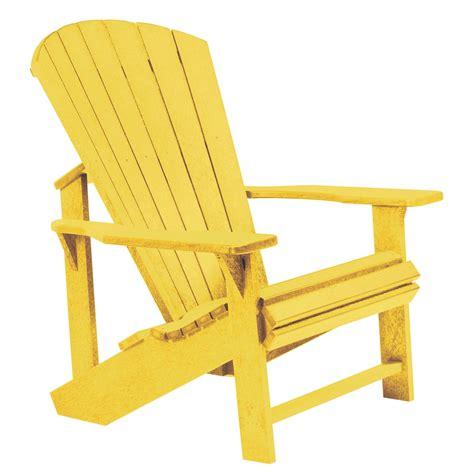 YellowAdirondack-Chair