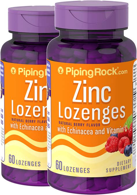 Zinc Lozenges Natural Berry  | Gps Store