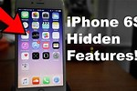 iPhone 6s Hidden Features
