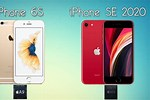 iPhone SE 2020 vs 6s
